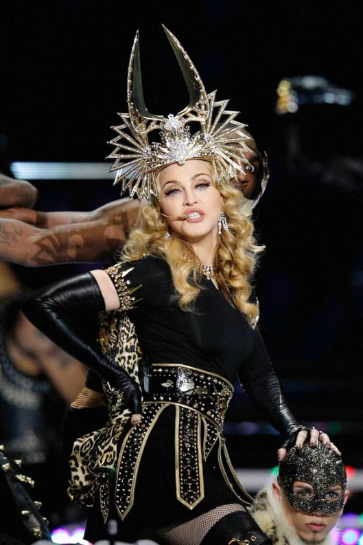 urban style,fashion,Madonna, super bowl,Nicki Minaj,M.I.A,half time show,Lady Gaga
