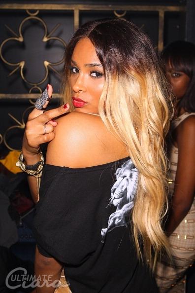 edgy fashion, Ciara, blonde hair, Grammys, Black Girls