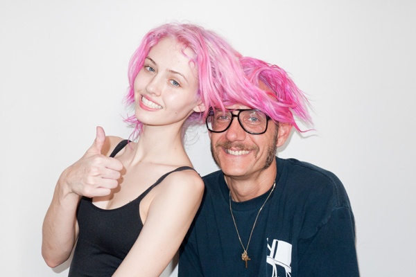 Charlotte Free, Terry Richardson, Modeling, Fashion Photographer, Pink Hair, hipsters