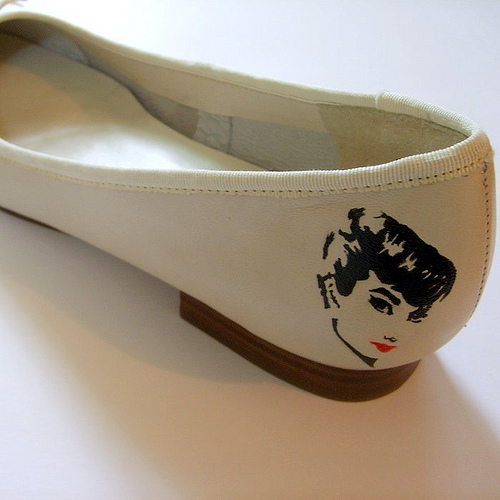 Audrey Hepburn,  Flats, Classic Fashion, Retro, 1950's, Fashion