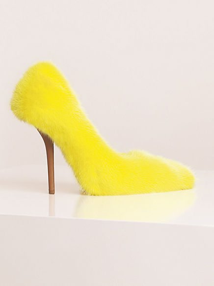 Céline, Summer 2013, Crazy Shoes, Furry shoes, fluffy shoes,