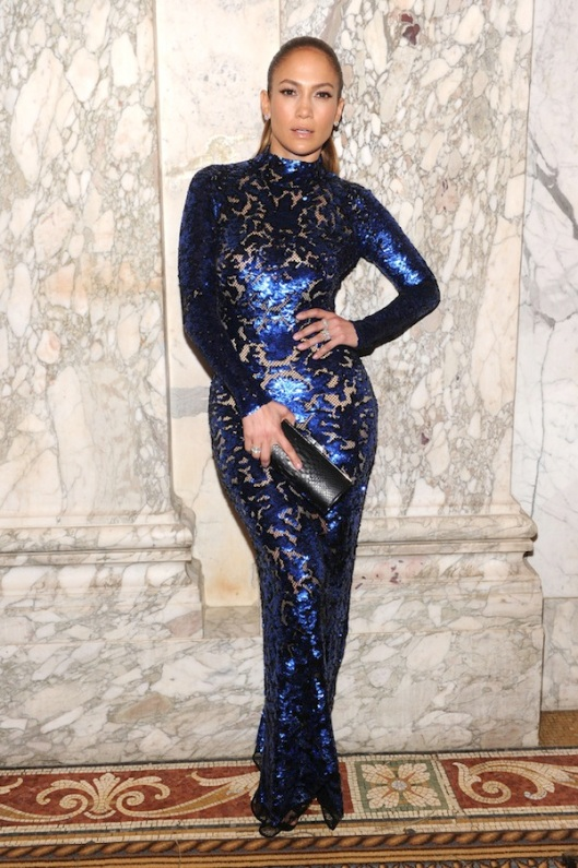 Jennifer Lopez in Tom ford at 4th annual Inspiration Gala