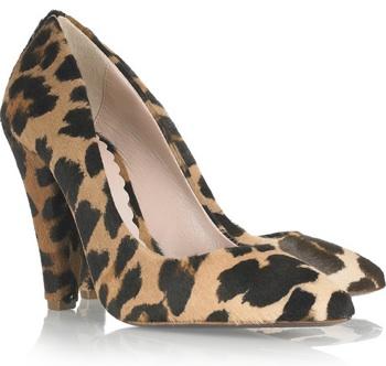 MULBERRY-Animal-print-calf-hair-pumps
